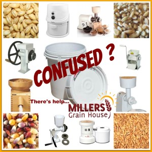 Confused Grain Mill
